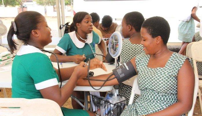 Ghana in female single nurses All free